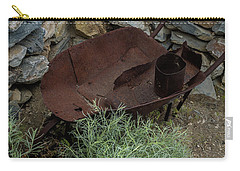 Rusted Wheelbarrow Carry-all Pouch