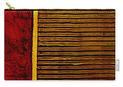 Rustic Abstract One Carry-all Pouch