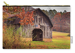 Carry-all Pouch featuring the photograph Rustic Barn In Autumn by Doug Camara
