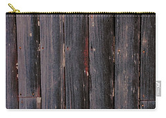 Rustic Barnwood Shower Curtain Carry-all Pouch