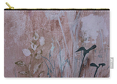 Carry-all Pouch featuring the painting Rustic Breeze by Robin Maria Pedrero