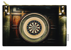 Rustic British Dartboard Carry-all Pouch