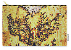 Rustic Country Style Jewels  Carry-all Pouch