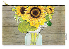 Rustic Paintings Carry-All Pouches