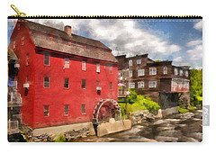 Rustic Historic Grist Mill Littleton, Nh Carry-all Pouch