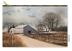 Carry-all Pouch featuring the photograph Rustic Lane by Robin-lee Vieira