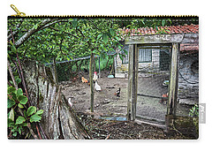 Carry-all Pouch featuring the photograph Rustic Old House In Galicia by Eduardo Jose Accorinti
