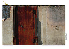 Carry-all Pouch featuring the photograph Rustic Ruin by Lori Mellen-Pagliaro