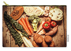 Rustic Style Country Vegetables Carry-all Pouch