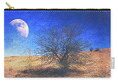 Carry-all Pouch featuring the photograph Rustic Winter Prairie by Anna Louise
