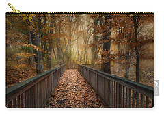 Rustic Woodland Carry-all Pouch by Robin-Lee Vieira