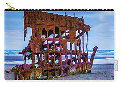 Rusting Peter Iredale Carry-all Pouch