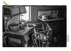 Rusting Pots And Pans, Bodie Ghost Town Carry-all Pouch