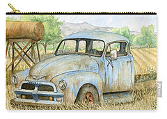 Rusty Blue Chevy Carry-all Pouch