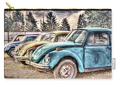 Carry-all Pouch featuring the photograph Rusty Bugs by Jean OKeeffe Macro Abundance Art