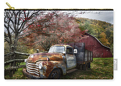 Rusty Chevy Pickup Truck Carry-all Pouch
