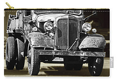 Rusty Dump  Truck Carry-all Pouch