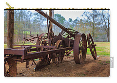 Carry-all Pouch featuring the photograph Rusty Farming by Doug Camara