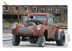 Rusty Gasser Carry-all Pouch by Christopher McKenzie