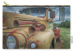 Carry-all Pouch featuring the photograph Rusty Horns by Guy Whiteley