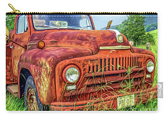 Carry-all Pouch featuring the photograph Rusty International by Marion Johnson