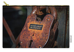 Carry-all Pouch featuring the photograph Rusty Lock by Doug Camara