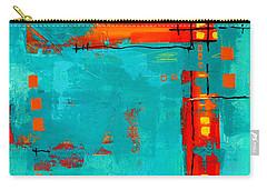 Rusty Carry-all Pouch by Nancy Merkle