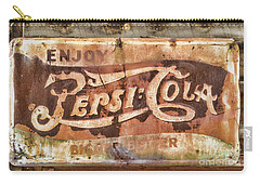 Rusty Pepsi Cola Carry-all Pouch by Steven Parker