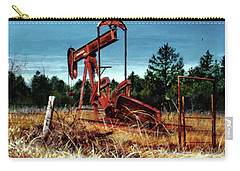 Rusty Pump Jack Carry-all Pouch