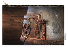 Carry-all Pouch featuring the photograph Rusty Stove by Doug Camara