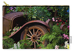Rusty Truck In The Garden Carry-all Pouch