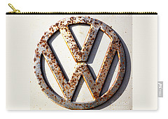 Vintage Vw Sign Carry-all Pouch