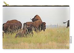 Rut Season For Buffalo 0077 Carry-all Pouch
