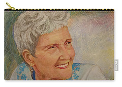 Ruth Sentelle Portrait 2 Carry-all Pouch
