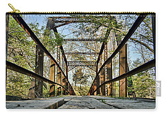 Englewood Bridge Carry-all Pouch by Cricket Hackmann