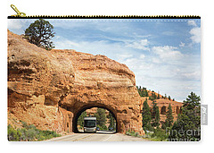 Rv Red Canyon Tunnel Utah Carry-all Pouch