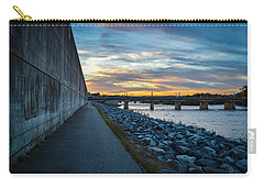 Rva Flood Wall Carry-all Pouch