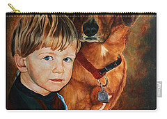 Ryan And Moses Carry-all Pouch