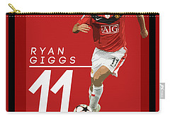 Ryan Giggs Carry-all Pouch by Semih Yurdabak