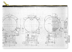 S-1a Cross Sections Carry-all Pouch