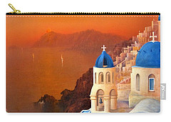 Santorini Carry-all Pouch by Joe Gilronan