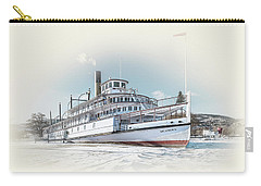Carry-all Pouch featuring the photograph S. S. Sicamous II by John Poon