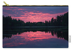 Sabao Sunset 01 Carry-all Pouch by Brent L Ander