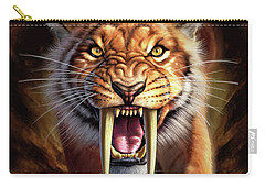 Sabertooth Carry-all Pouch by Jerry LoFaro
