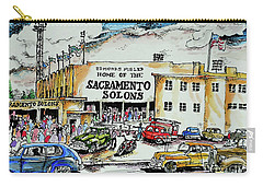 Sacramento Solons Carry-all Pouch