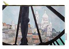 Sacre Coeur From Musee D'orsay Carry-all Pouch by Diane Arlitt