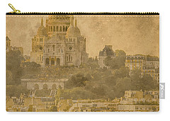 Paris, France - Sacre-coeur Oldplate Carry-all Pouch