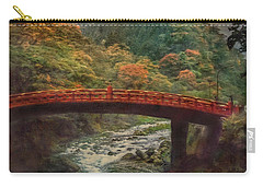 Carry-all Pouch featuring the photograph Sacred Bridge by Hanny Heim