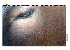 Carry-all Pouch featuring the photograph Sacred Cow 5 by Randall Weidner