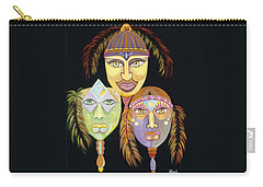 Sacred Feathers Carry-all Pouch